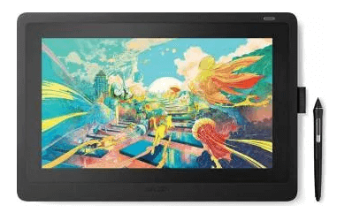 Tableta Grafica Wacom Cintiq 16 Black Interactive Pen Display