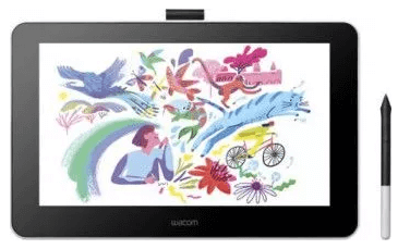 cea mai buna Tableta Grafica Wacom One 13 dtc133w0b